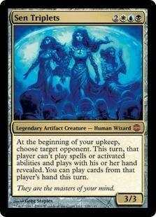 Magic the Gathering - Sen Triplets - Alara Reborn