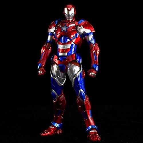 Sen-ti-nel REEDIT Iron Man 03 Iron Patriot Action Figure