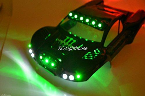 RC LED Light Kit Deluxe Custom Set 44 - Body not included