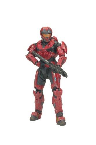 McFarlane Toys Halo Reach Series 2 - Spartan CQC Custom Male Action Figure Team RedTeam Red