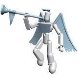 Stikfas Alpha Male Action Figure Kit Arch Angel by Stikfas