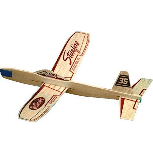 Starfire Balsa Wood Glider Plane by Guillow