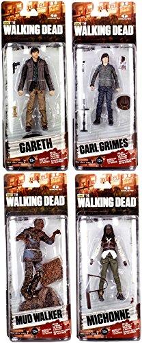 McFarlane Toys The Walking Dead AMC TV Series Series 7 Mud Walker Carl Grimes Michonne Gareth 6 Action Figures