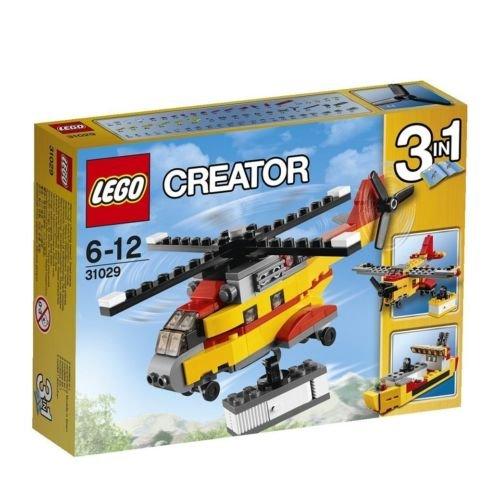 LEGO Creator Cargo Heli Helicopter 3 Set Assemble Toys 31029 Japan