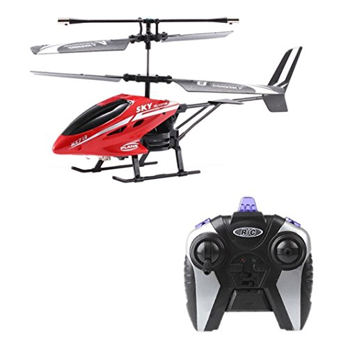 Anxinke HX713 25CH 10 Minutes Flying Duration Time Infrared Control System CE Certification RC Helicopter Remote Control Aircraft Drone Airplane RED