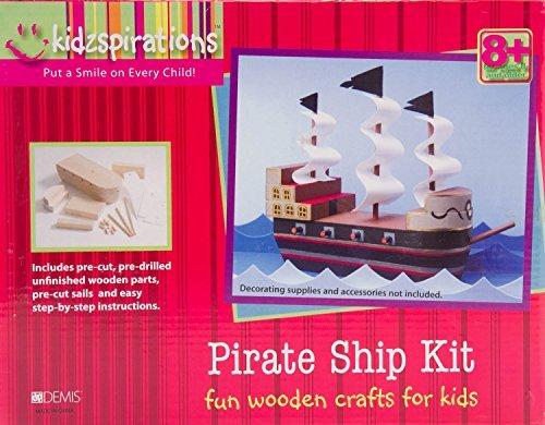 Kidzpirations Pirate Ship Kit by Demis