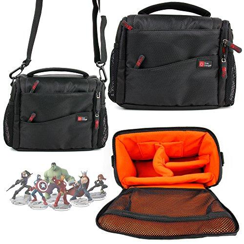 DURAGADGET Deluxe Storage Bag  Carrying Backpack for Marvel Superhero Disney Infinity Character Figures