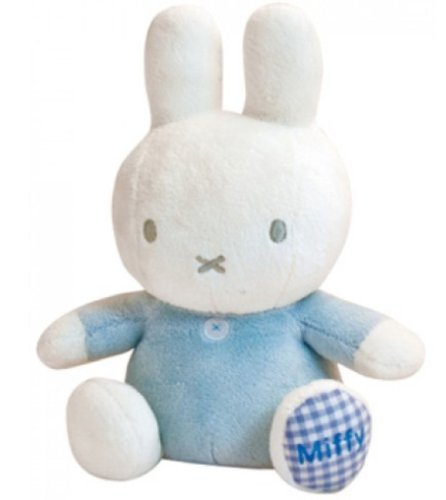 Miffy Little Star Rattle Bean Toy Blue by Miffy