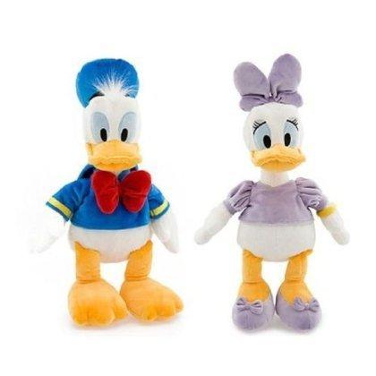 Disney Ducks Bean Bag Plush Set - Donald and Daisy Duck by Disney