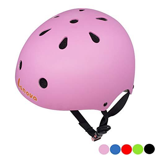 Lanova Toddler Helmet CPSC Certified Kids Bike Helmet Adjustable from Toddler to YouthAge 3-8 11 Vents Safety Ventilation Design for Kids Cycling Skating Scooter