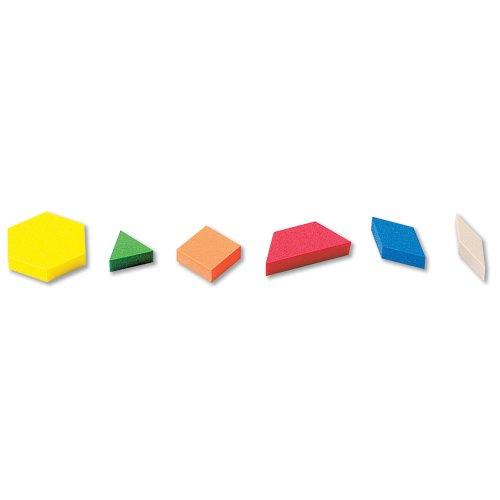 hand2mind ETA ManipuLite Pattern Blocks Starter Set Set of 100
