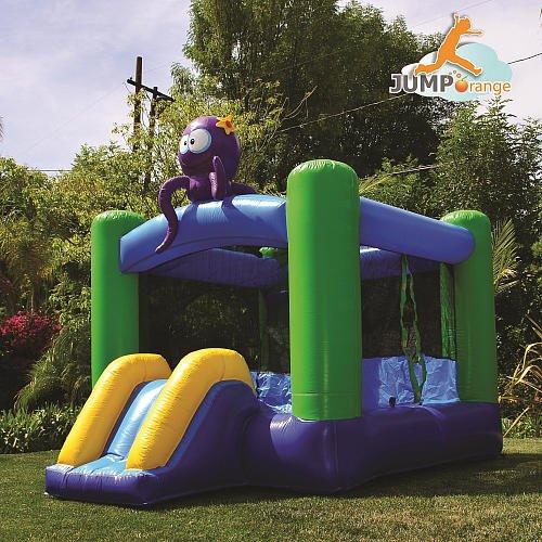 The Kiddo Octopus Jump N Slide Inflatable Fun House