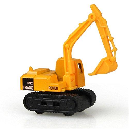 LALANG Children Metal Construction Vehicles Engineering Car Toy Truck Model Kids Gift Excavator