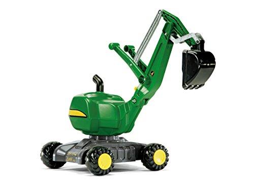 rolly toys John Deere Ride-On 360-Degree Excavator ShovelDigger Youth Ages 3