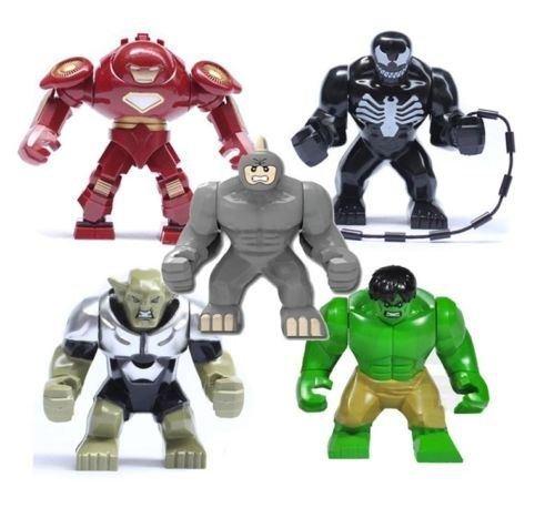 5pcs Set Minifigure toy Avengers