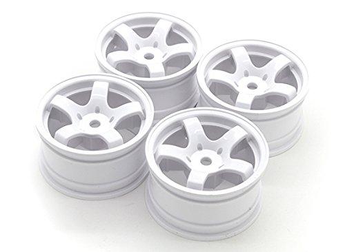 HobbyKing Sweep Mini 5 Spoke Wheel Type A - White 4pcs