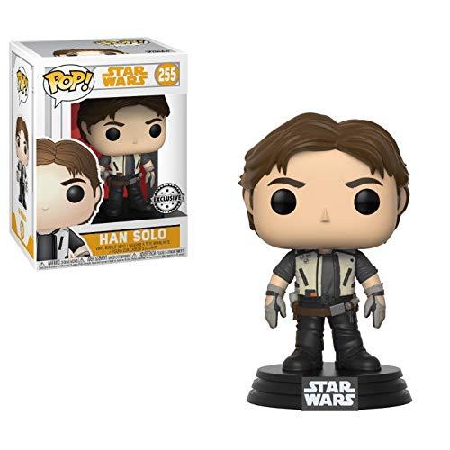 Pop Star Wars Vinyl Bobble-Head Han Solo Solo Movie Flight Outfit 255 Exclusive
