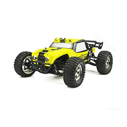 Leoie HBX 12891 112 4WD 24G Waterproof Hydraulic Damper RC Desert Buggy Truck with LED Light Yellow