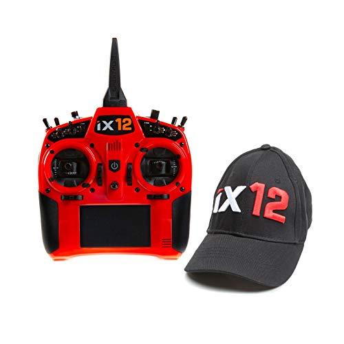 Spektrum iX12 12-Channel DSMX Transmitter Only Red SPMR12000R