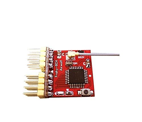 Crazepony DIY Frsky 8CH Receiver RX PPM Output for X9D Plus XJT DJT DFT DHT