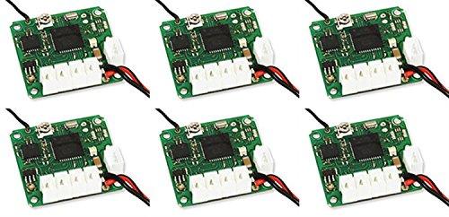 6 x Quantity of Walkera QR Ladybird Mini Quadcopter Receiver 37v RX2643H-D for Devention TX - FAST FREE SHIPPING FROM Orlando Florida USA