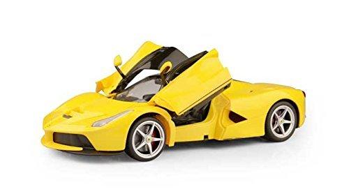 114 Scale Ferrari La Ferrari LaFerrari Radio Remote Control Model Car RC RTR Open Doors Yellow by FMTStore