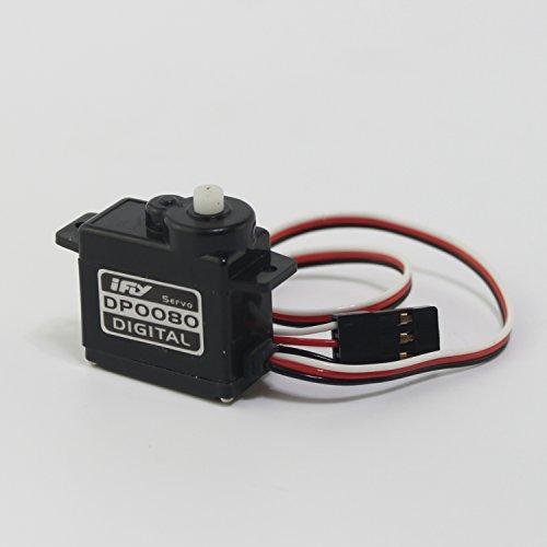 iFLY Micro Digital Coreless Servo DP0080 Plastic Gear 14kg-cm010sec60°60V
