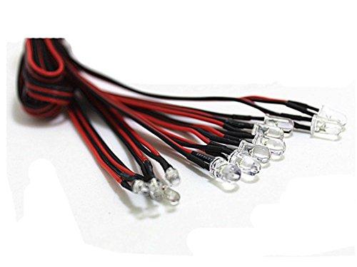 XJJ TAMIYA 12 LED Simulation Lights Smart System Flash Lighting for RC 110 110 Model Car