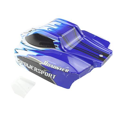 AckfulA959 Car Body Shell Car Cover Part for Wltoys A959 A959-B 118 RC Off-Road Car Blue