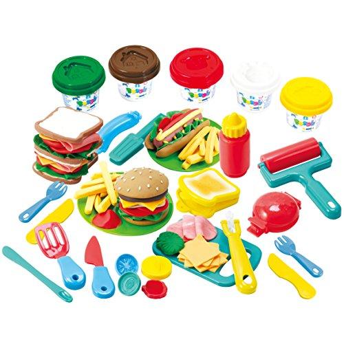 PlayGo Burger Deli - Clay Dough