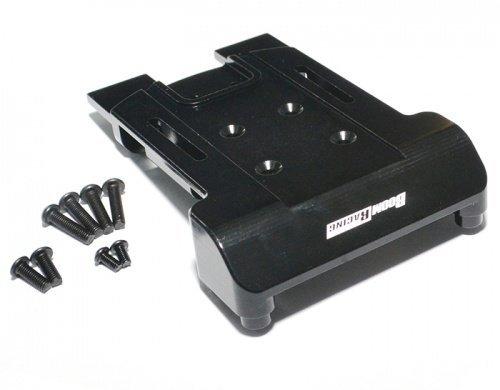 Boom Racing BRECX035BK Aluminum Rear Arm Center Mount Set - 1 Pc Black for ECX Torment