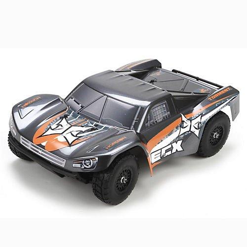 ECX Torment 4WD Short Course RTR Truck 118 Scale GrayOrange