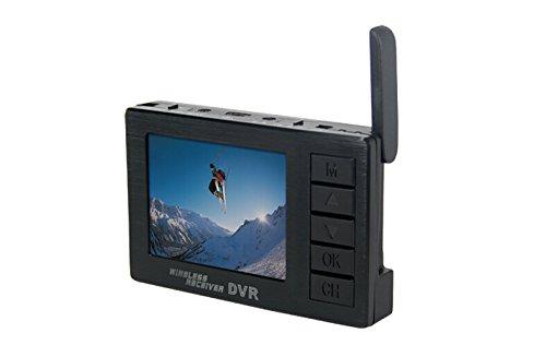 BOSCAM DV01S FPV 8 Channel Mini Video Camera 58G Wireless Receiver DVR Audio 24 Inch HD LCD