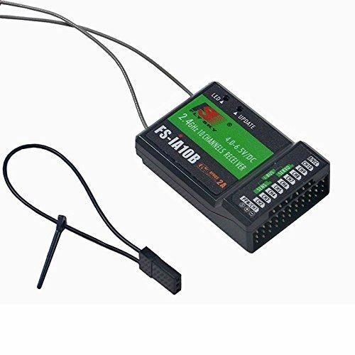 Crazepony Flysky FS-IA10B 24G 10 Channel Receiver PPM Output for I4 I6 GT2E GT2G I10 I6S transmitter