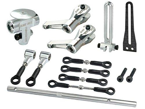 Microheli Precision CNC Aluminum DFC Head Short combo - BLADE 300X