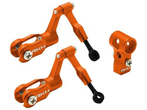 Rakon Blade Nano CPXCPS CNC AL DFC Head Combo Orange - nCPX005-O
