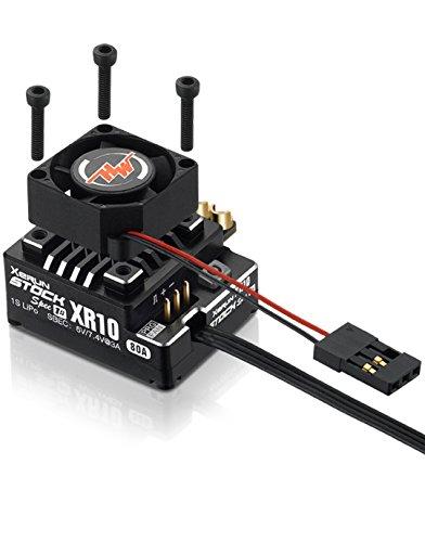 Hobbywing Electronic 30112751 Xr10 Pro Stock Spec 1S Sensored Brushless ESC Speed Control