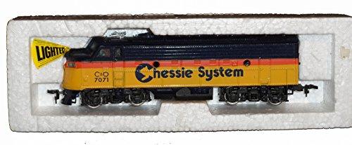 Bachmann HO Scale Chessie Diesel Engine 7071