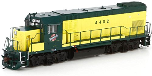 Athearn Genesis - HO GP15-1 C&NWSafety Yellow 4402