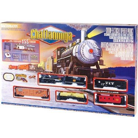 115 Piece Bachmann HO Electric Train-Chattanooga Train Set