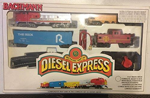 Bachmann Diesel Express HO electric train set