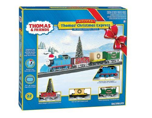 Bachmann Industries Thomas Christmas Express Ready To Run Electric Train Set