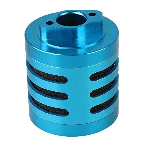 BQLZR Blue N10191 Aluminum Upgrade Parts Air Filter Sponge Insert for RC 15 Model Car