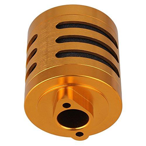 Mxfans RC15 N10192 Aluminum Alloy Yellow Air Filter L 75MM 295 DIA 64MM 252