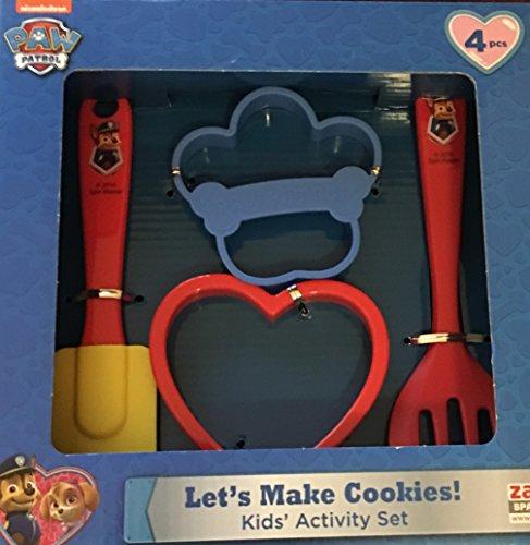 Paw Patrol Lets Make Cookies Kids Activity Set ~ 4 piece