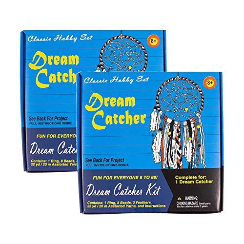West Coast Paracord Classic Hobby Set Crafting Retro Kit Bundles Dream Catcher Kits 2 Pack