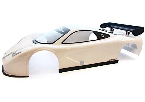 Kyosho Inferno GT2 Nitro  WHITE CEPTOR BODY SHELL& WING  Race Spec IGB107
