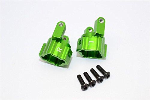 Axial SCX10 Upgrade Parts Aluminum Front C-Hub - 1Pr Set Green