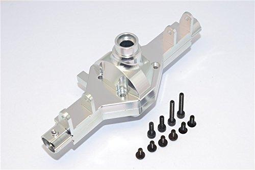 Axial SCX10 Upgrade Parts Aluminum Front  Rear Gear Box - 1 Set Silver