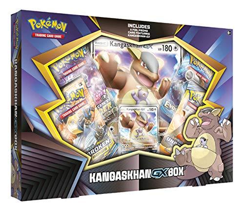 Pokemon TCG Kangaskhan- Gx Box  4 Booster Pack  A Foil Promo Code  A Oversize Foil Card